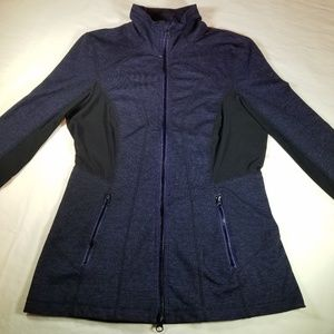 Zella Athletic Jacket, zip up, Sz S.